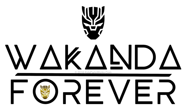 Wakanda Forever font