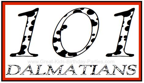 101 Dalmatians font