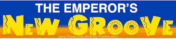 Emperor's New Groove font