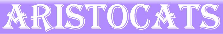 Disney Aristocats Font