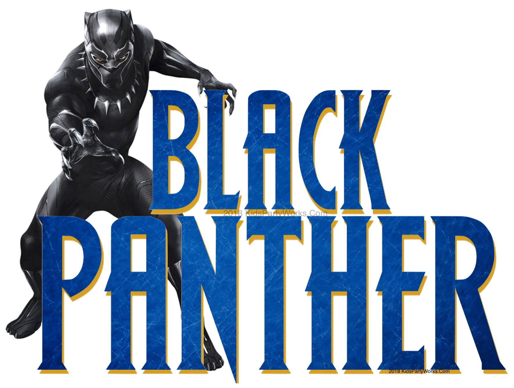 Black Panther font is a free font and great for DIY projects.