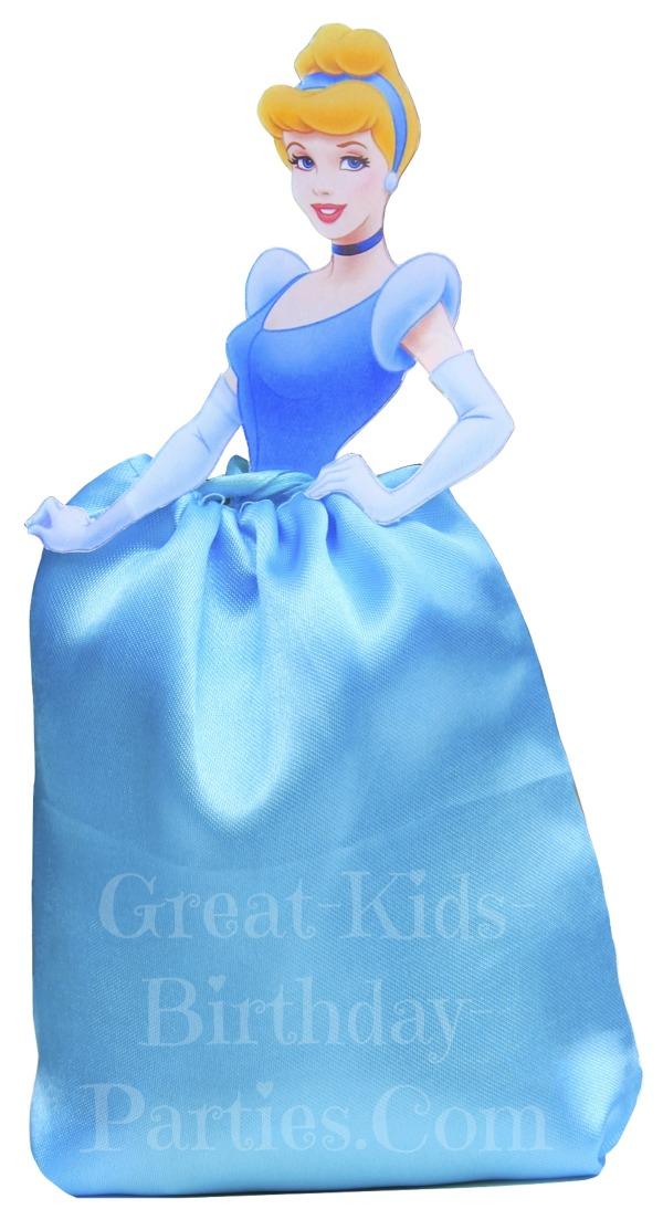 DIY Disney Princess Party Favors - Cinderella Favor Bags