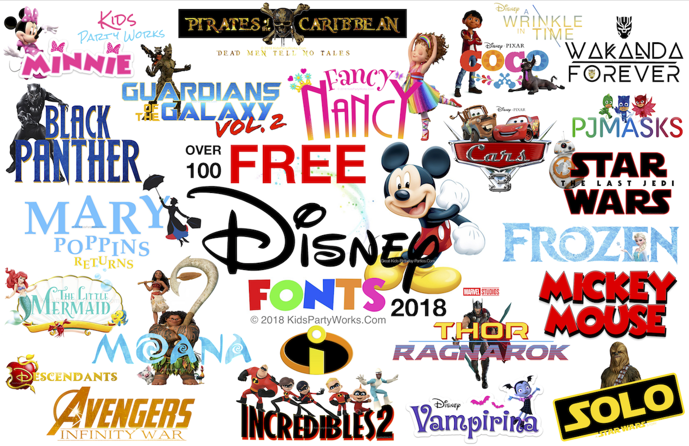 free disney font for all your disney projects fonts include mickey font disney font