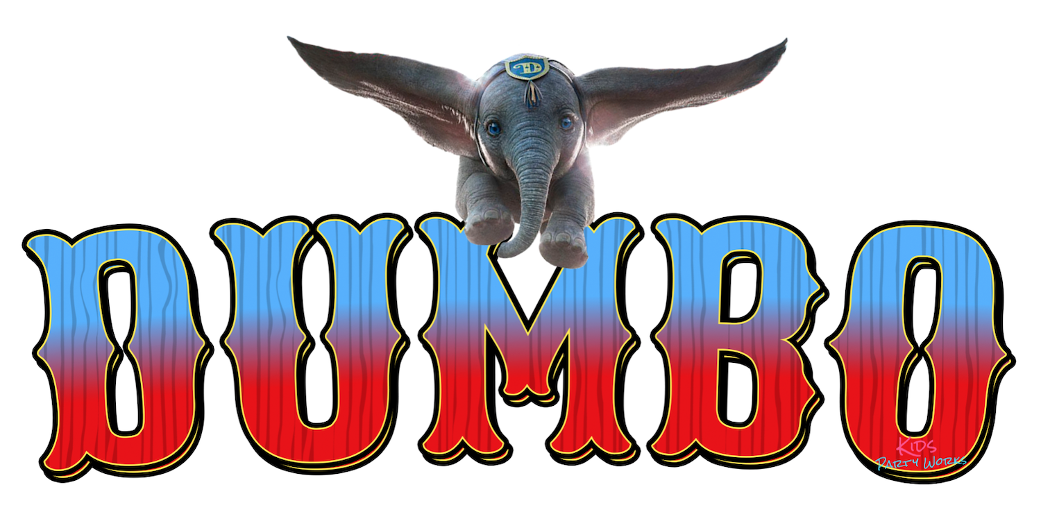 Disney's Dumbo Font at KidsPartyWorks.Com