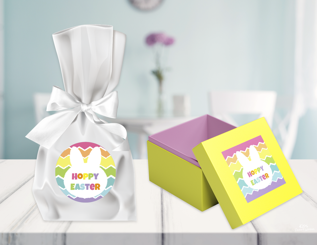 Free Easter Stickers. KidsPartyWorks.Com