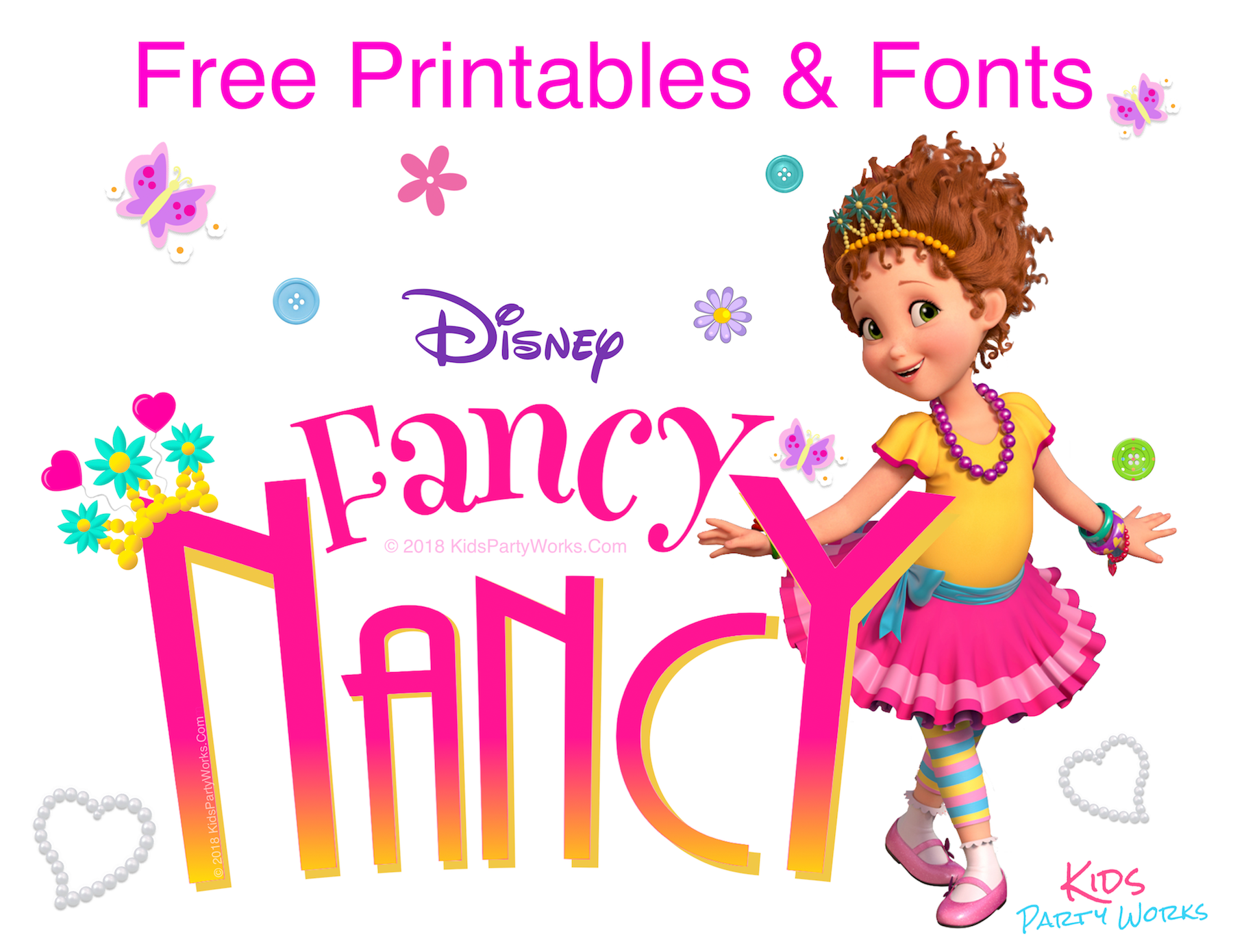 fancy nancy printable