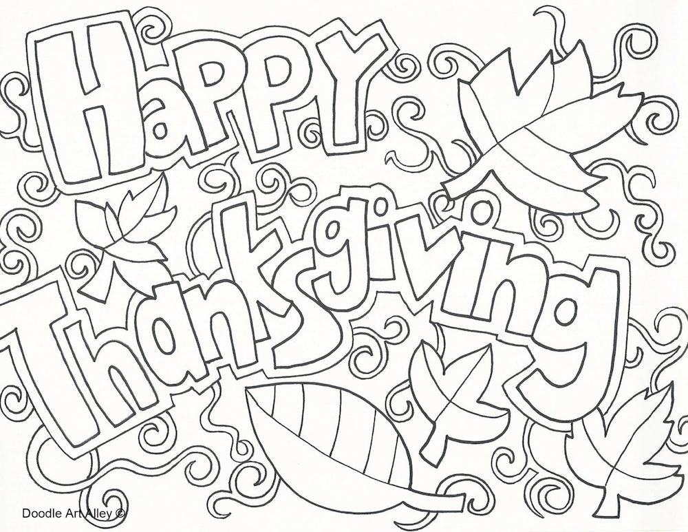 thanksgiving coloring pages and worksheets - photo#43