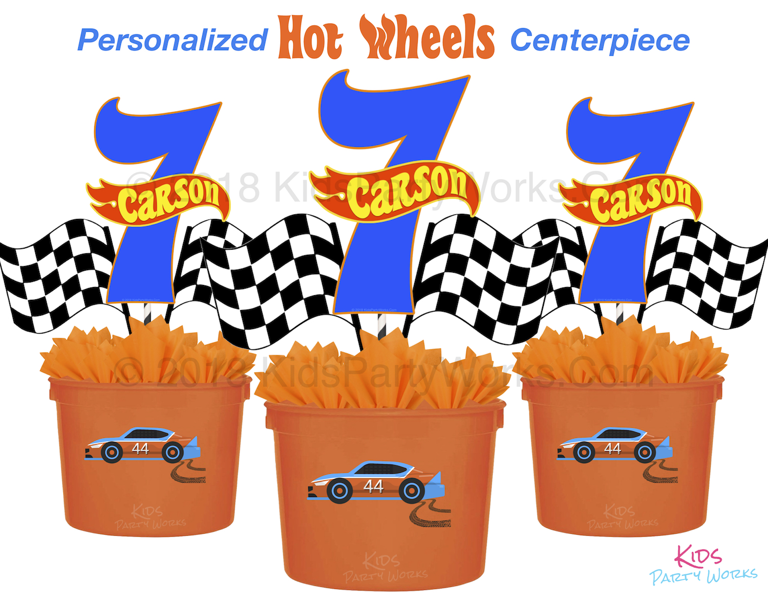 hot wheels centerpiece