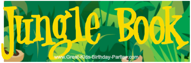Jungle Book font