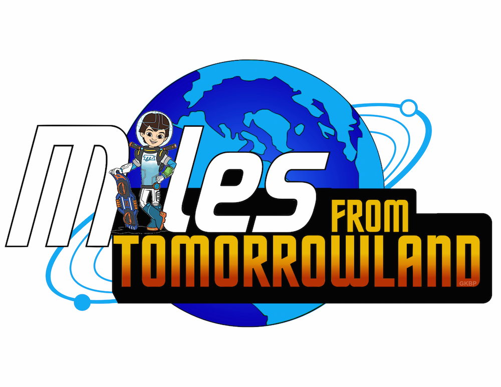 Miles from Tomorrowland font