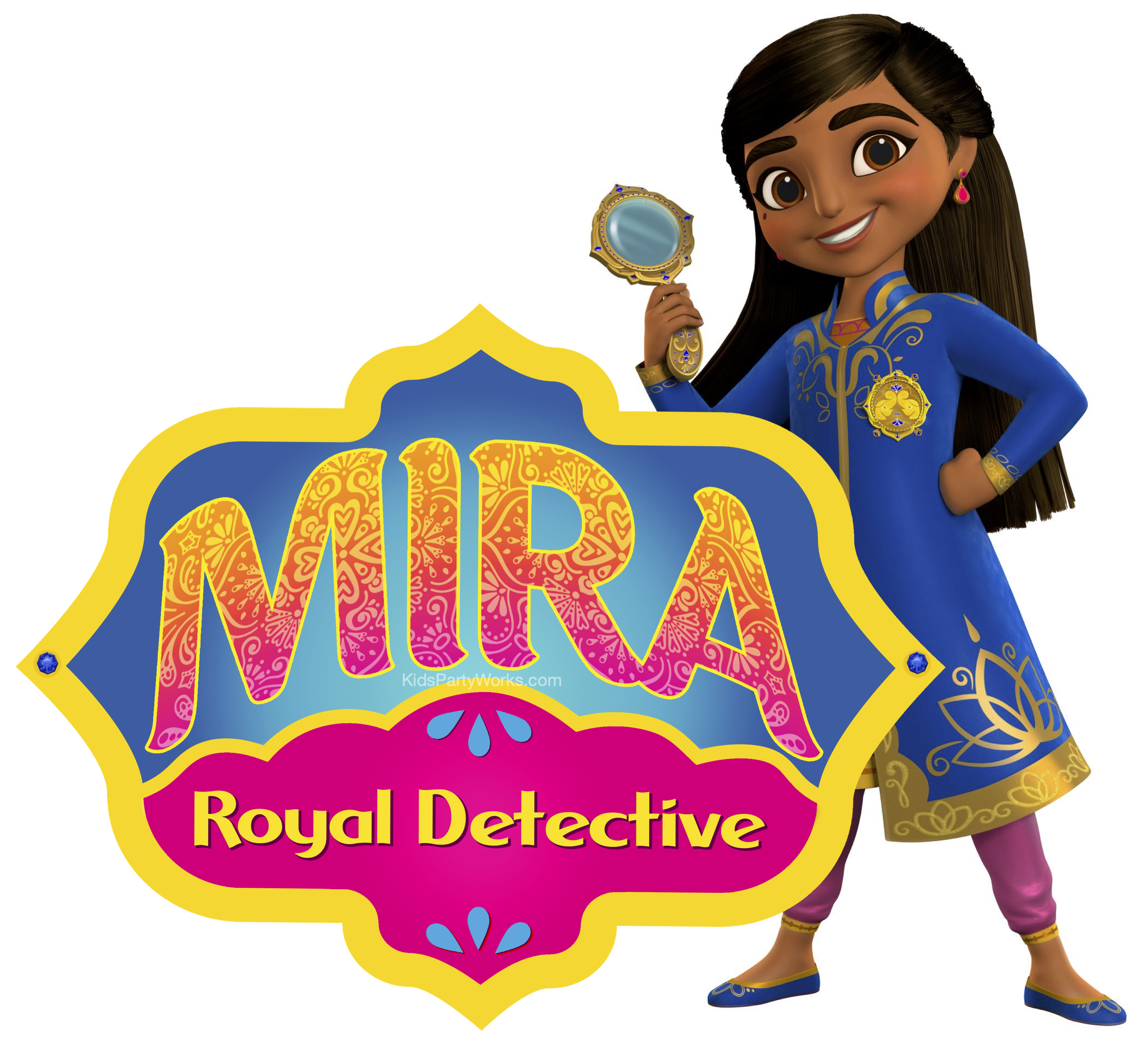 Disney Junior's Mira Royal Detective Font