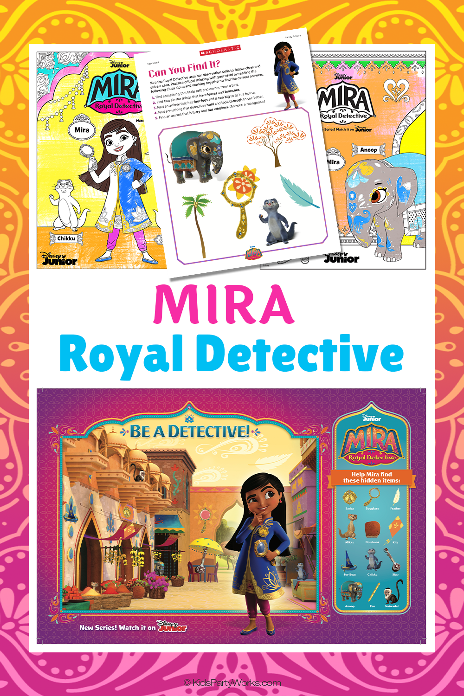 Mira Royal Detective birthday party