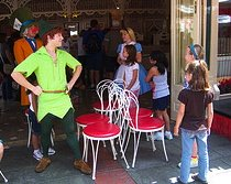 musical chairs peter pan