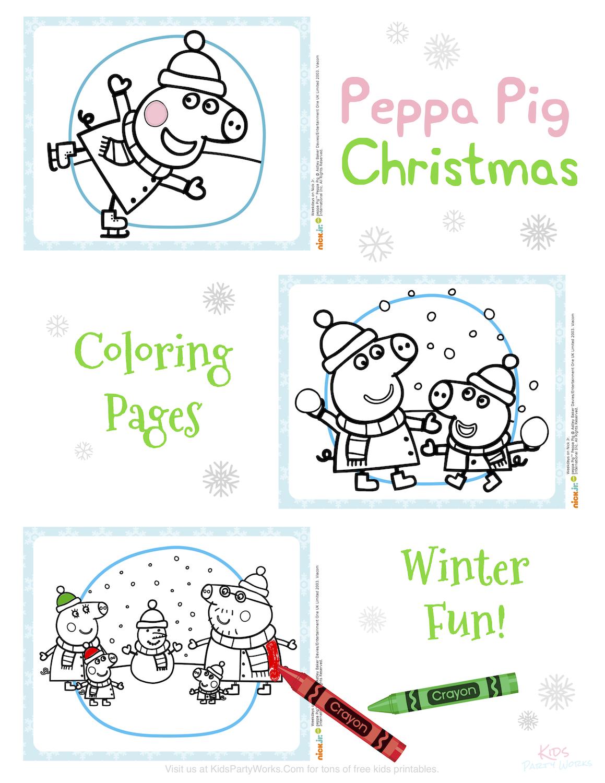 peppa pig christmas