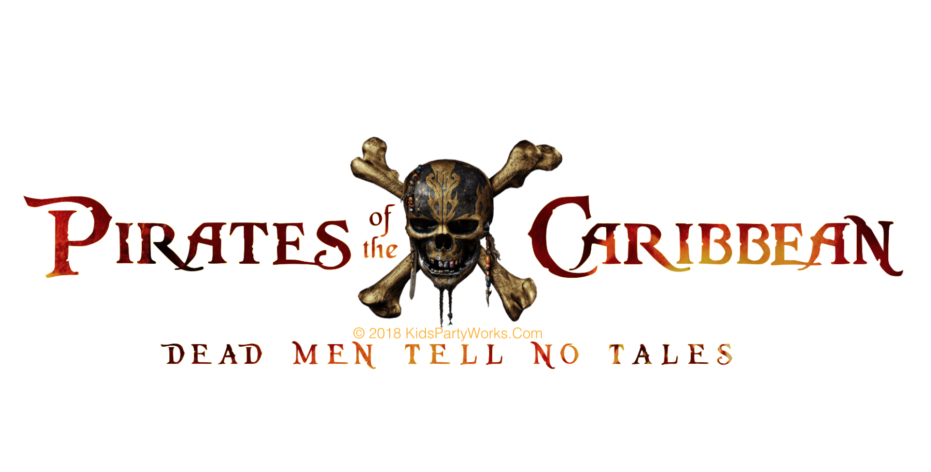 Disney Pirates of the Caribbean Font