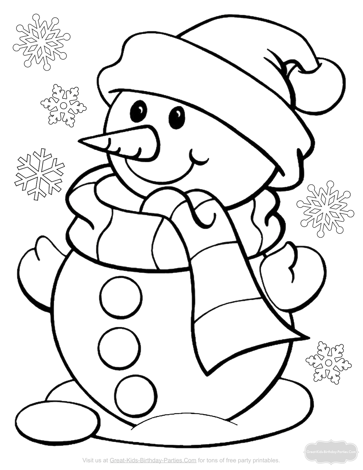 santa mrs claus coloring page