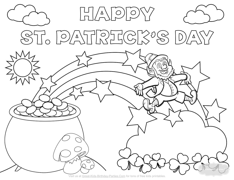 Gemütlich St. Patricks Day Malvorlagen Zeitgenössisch - Druckbare ...