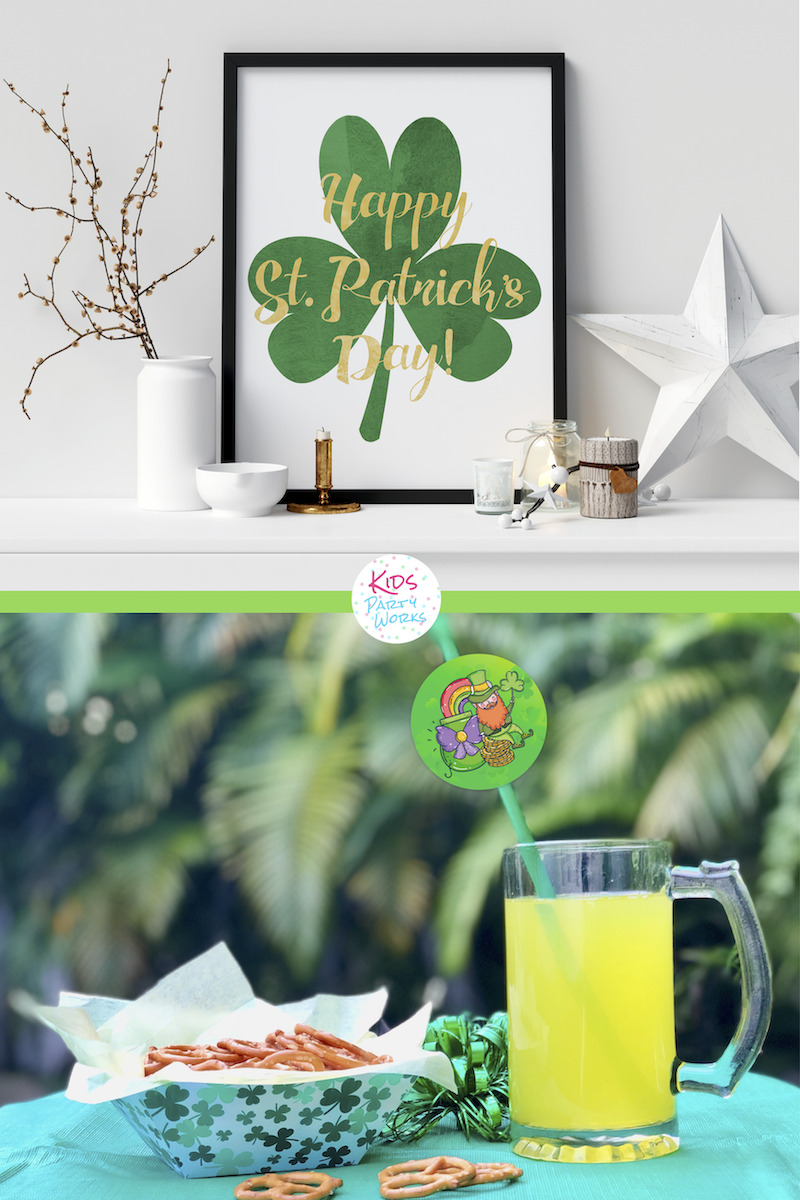 St. Patrick's Day Printables by KidsPartyWorks.Com