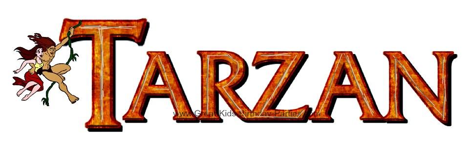 Disney Tarzan Font