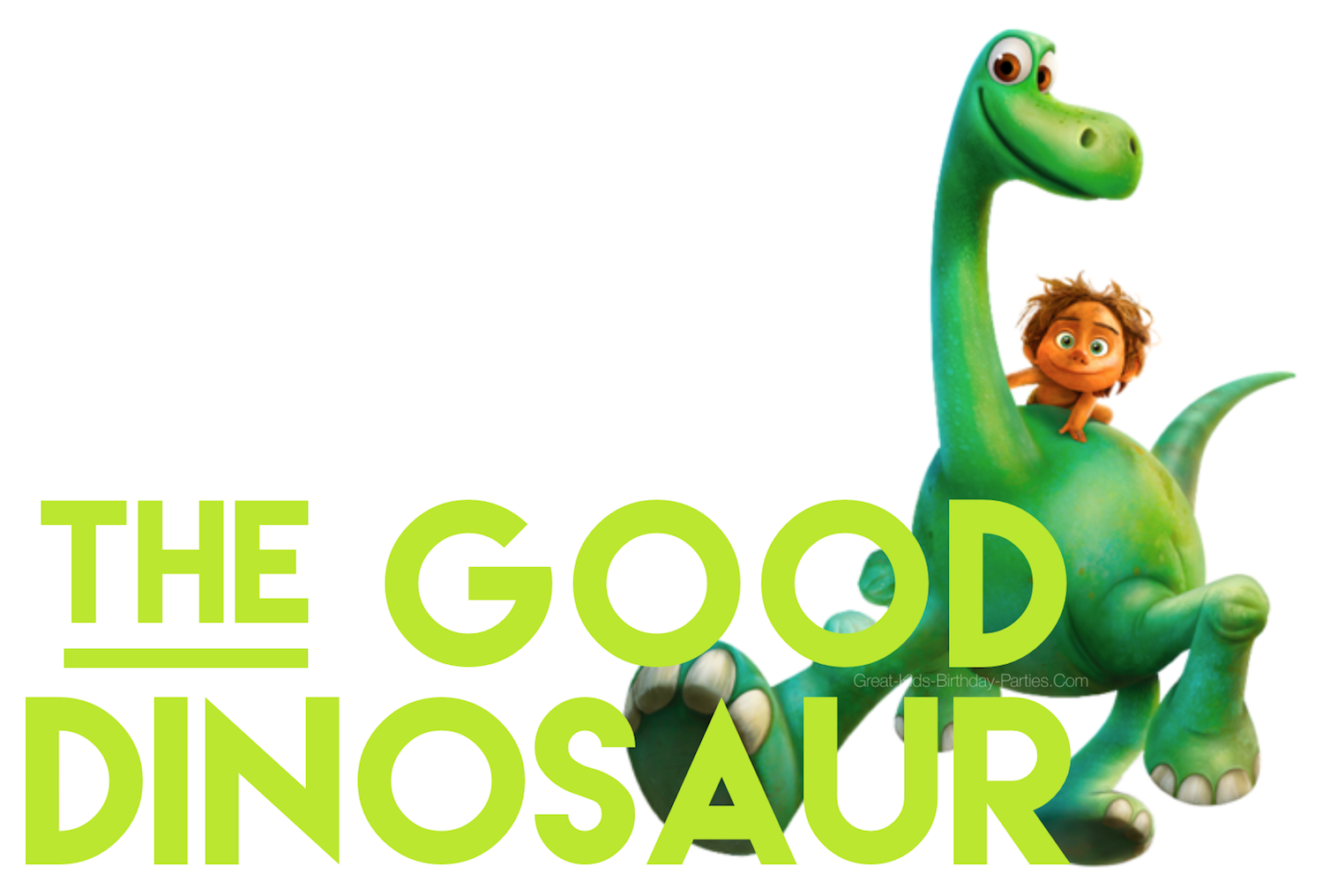 Disney Good Dinosaur Font